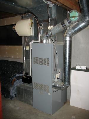 Furnace in rental house